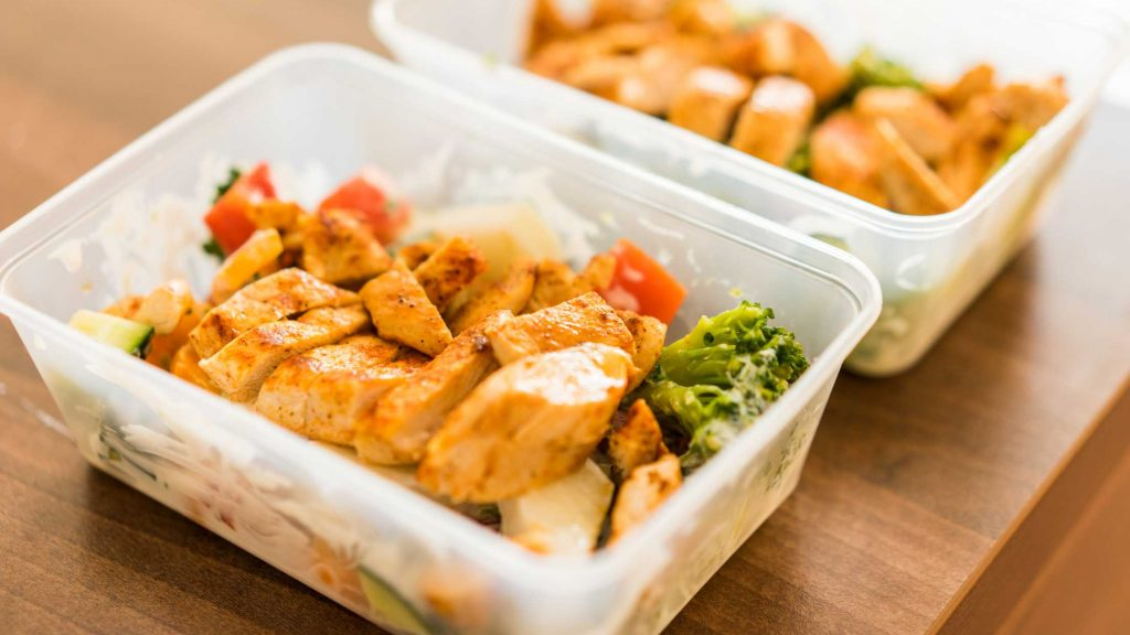 Studio Pilates healthy recipe Grilled Chicken Lunch Prep