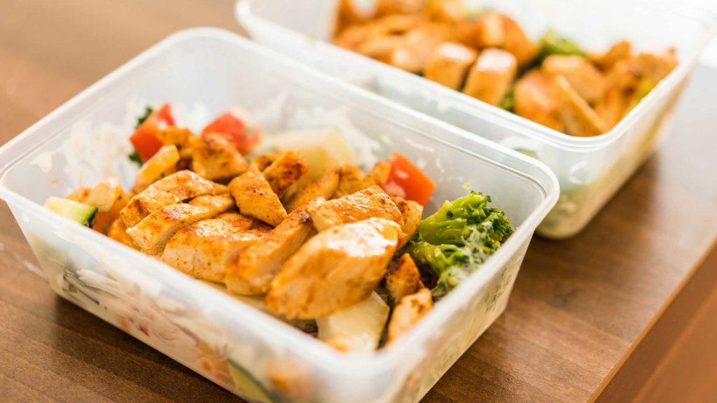 Studio Pilates healthy recipe Grilled Chicken Lunch Prep