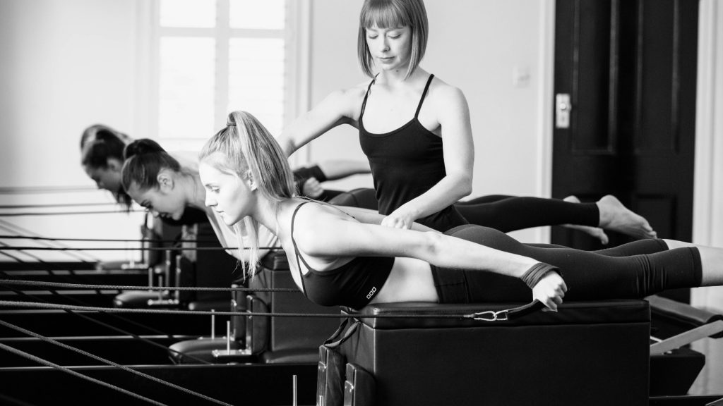 see Studio Pilates class example and reviews