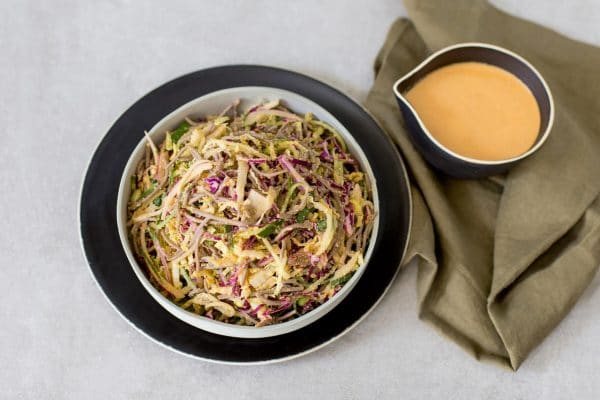Cashew Sriracha Edamame and Soba Salad nodo recipe